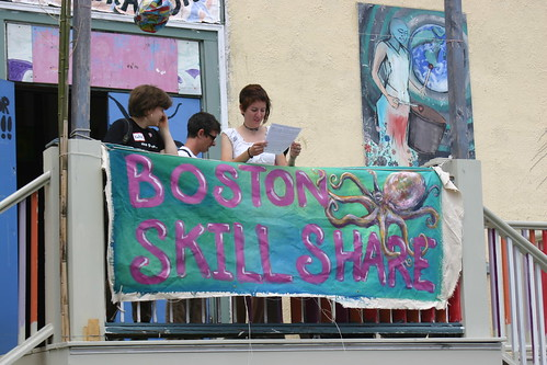 Boston Skillshare - considering the workshops