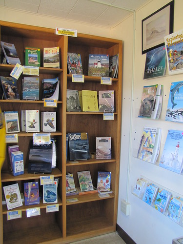 Gift store at Point Sur Lightstation