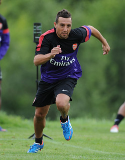 Santi Cazorla of Arsenal