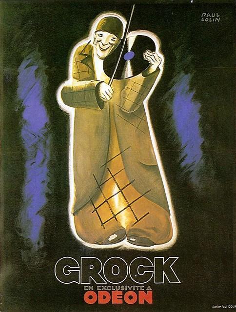 Paul Colin. Grock Odeon. 1930