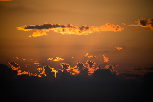 sunset sea summer cloud japan niigata 瀬波温泉 senami