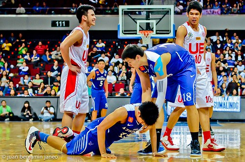 UAAP Season 75: Ateneo Blue Eagles vs. UE Red Warriors, Aug 4