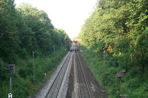 Bahngleise - Am Nockherberg