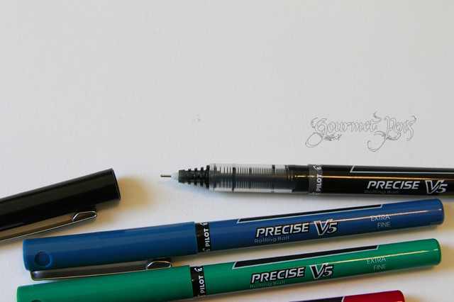 Pilot Precise V5 Feed and Nib