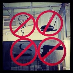 No guns in the museum