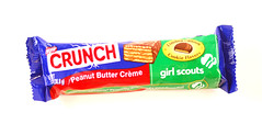 CRUNCH Girl Scouts: Peanut Butter Crunch