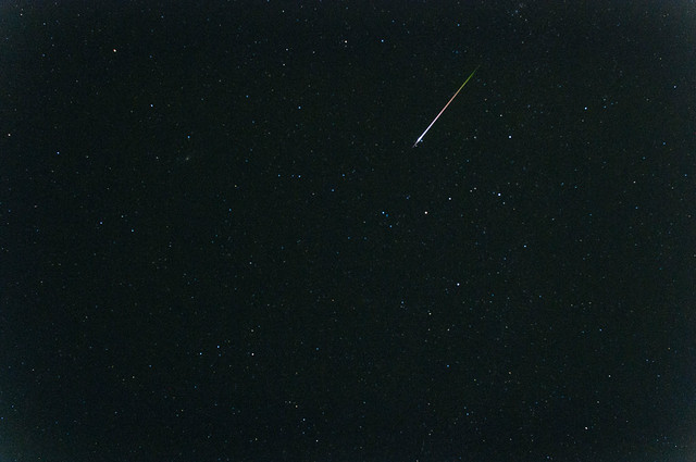 Perseid meteors
