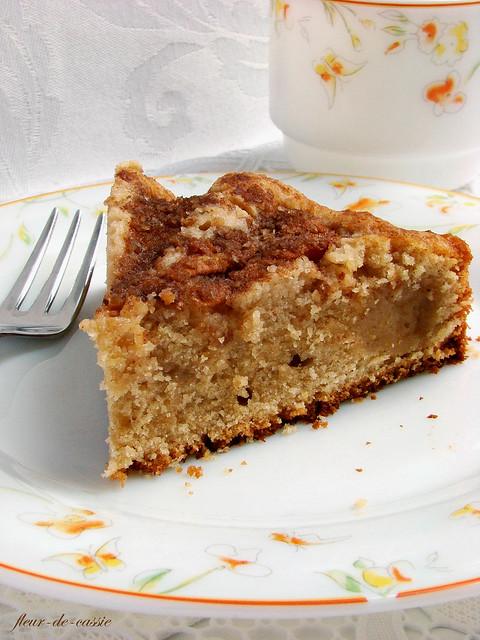 пирог грушевый с миндальной посыпкой 2