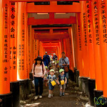 School Children at Fushimi Inari Shrine - Kyoto, Japan