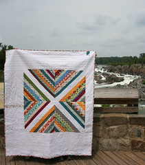 Quilt Along Quilt @Great Falls