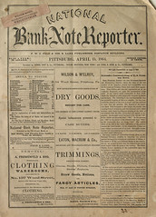 13 - Bank Note Reporter - Pittsburg - 1864