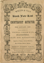 11 - Bank Note Reporter - Willis - 1857