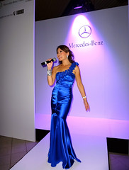 TV & Radio Presenter Jennifer Su - Corporate MC for Mercedes-Benz Fashion Week