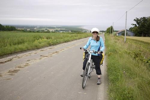 Taking backroads to avoid the narrow Shiretoko Highway (Hokkaido, Japan)