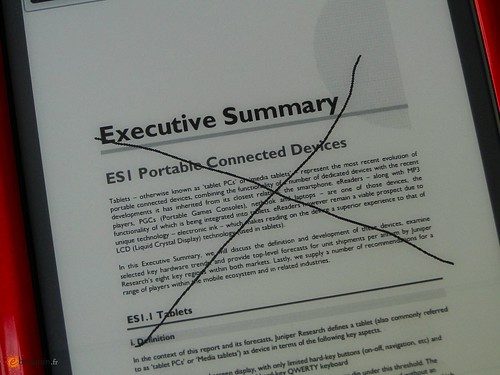 Prise de notes sur un PDF