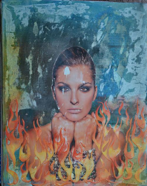Pan Pastel Flames