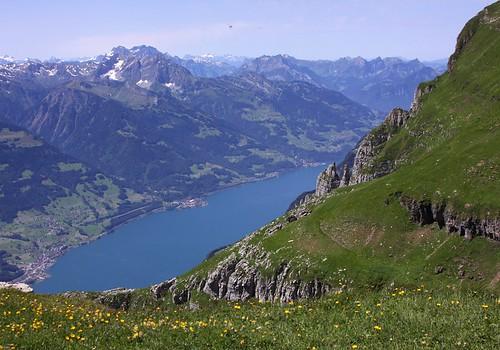 schweiz switzerland walensee toggenburg chäserrugg chaeserrugg rosenboden