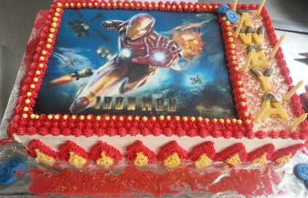 Iron Man Edible Print