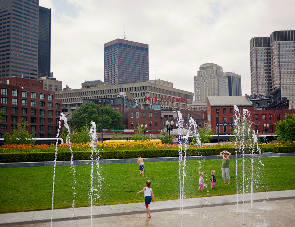 Rose Fitzgerald Kennedy Greenway 4
