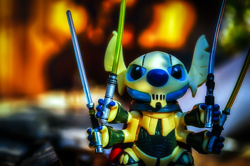 Stitch, General Grievous And Me by hbmike2000