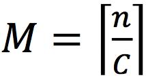 M=_n/C_