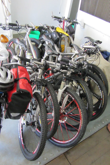 Mountain bikes galore