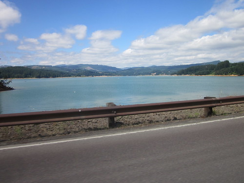 Hagg Lake, from the Scoggins Valley Dam
