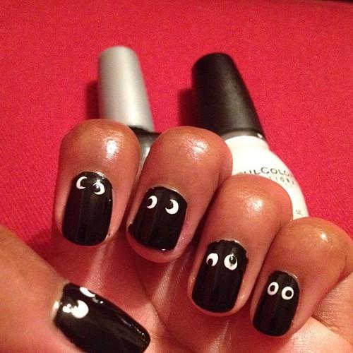 Eye nails!!