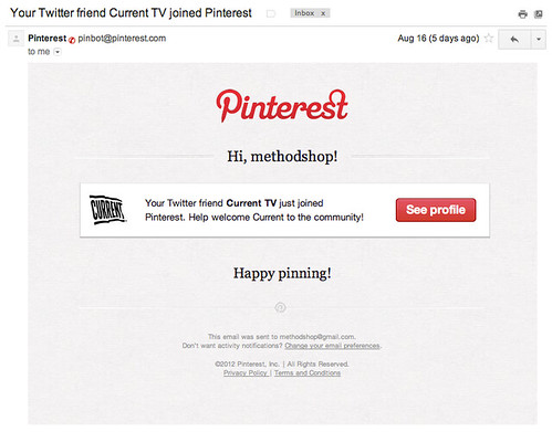 Current TV Joins Pinterest - How To Find and Get A Job Using Pinterest