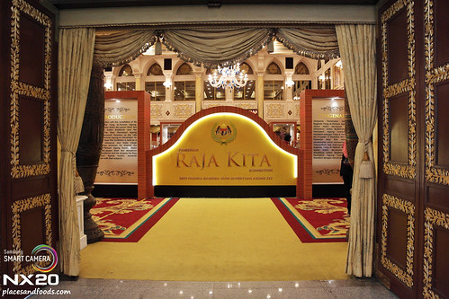 royal palace raja kita entrance