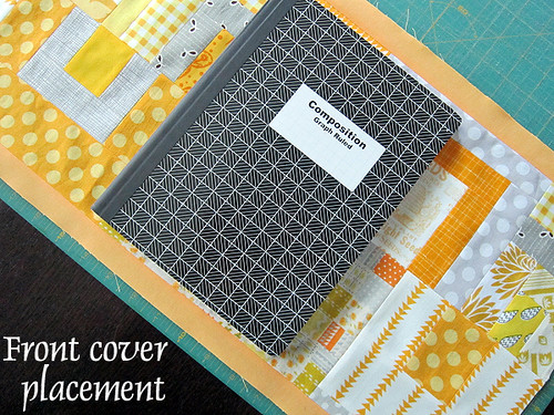Diy Quilted Book Cover : Journal cover tutorial — stitched in color