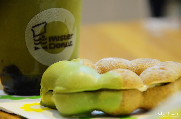 [台北]Mister Donut 2012抹茶季。限定初秋新味,究極濃韻下午茶
