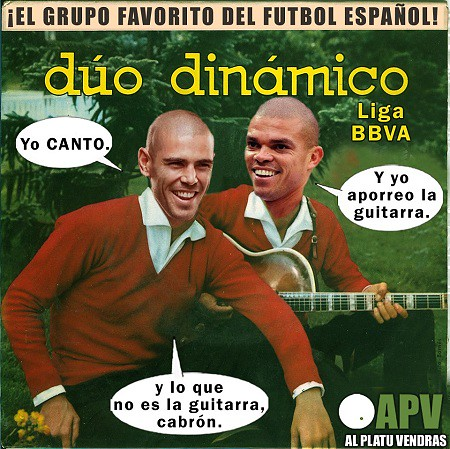 Duo Dinamico Liga BBVA Pepe Pablo Victor Valdes