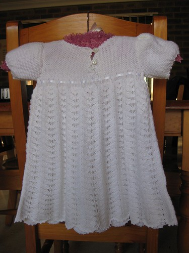 Completed Christening Gown for Kay (1)