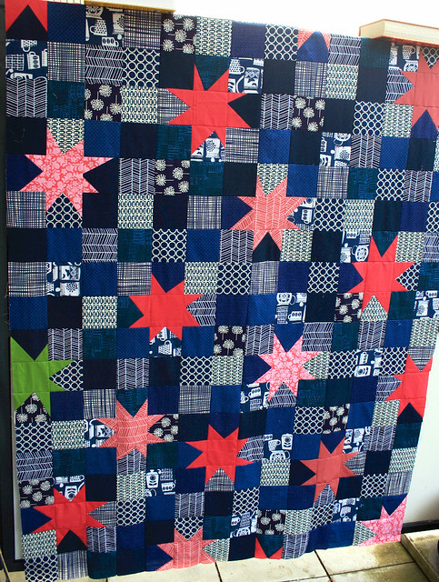 the odd one quilt top