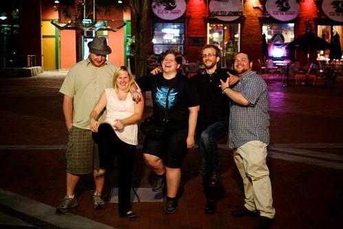 Evan, Madeline, Kristina, Dan, Pat