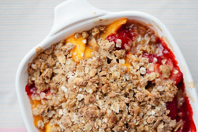 strawberry mango passion fruit crisp