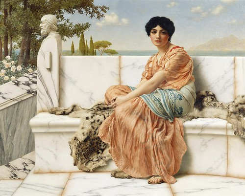 John William Godward - Reverie [1904]