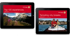 Mobilní aplikace o Švýcarsku