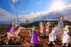 Don Quijote y los flagelantes
