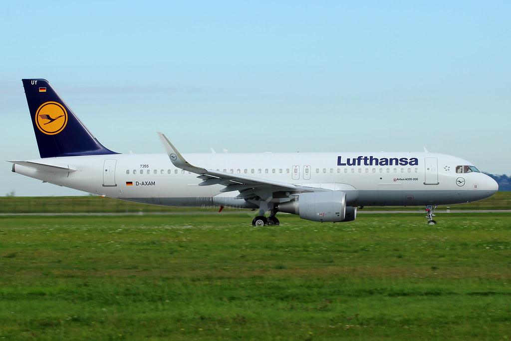 D-AIUY - A320 - Lufthansa