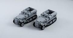 Sd.Kfz 250 twins