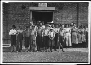 Part of the force at Tupelo Cotton Mills. All work, May 1911