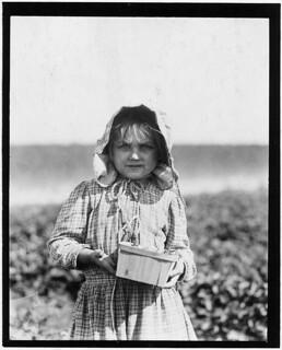 Alberta Mc Nadd on Chester Truitt's Farm, May 1910