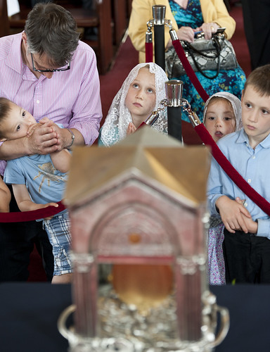 Visit of the Relic of the Heart of St John Mary Vianney - St Anthony's Wythshawe