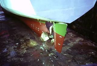 LC's screw & rudder