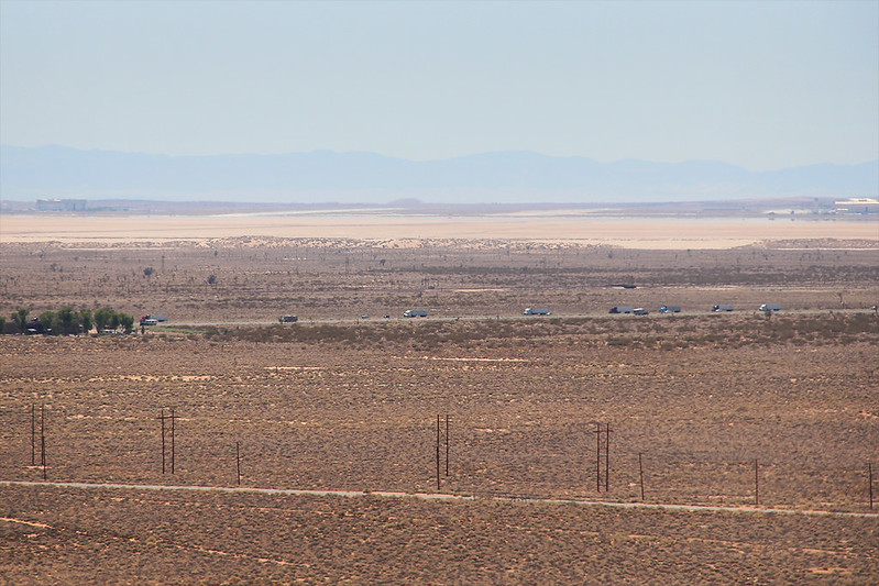 Edwards Air Force Base from Borax Visitor Center
