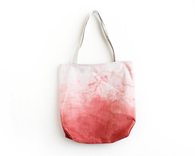 amaranth pink tote