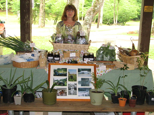 Janice Joyce with Kester Clark Farm at Fairy Stone State Park