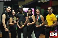 Premiación 1er Body Transformation Gold' s GYM Moca